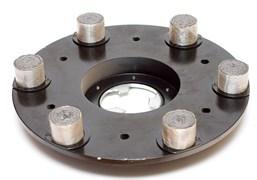 Планшайба металлическая д.430 мм LUX (свинец) гранит CHA
