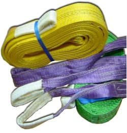 Строп текстильный двухпетлевой 1т/5м - фото 4154