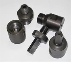 Переходник для сверла цанга 12,6 мм (3-уг.) х 1/2 мама (без подачи воды) Diam-S - фото 4200