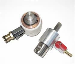 Переходник для сверла 1/2 х цанга 12 мм - треугольник (с подачей воды) Diam-S - фото 4204