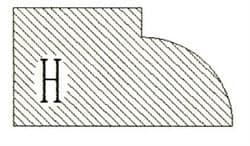 Фреза алмазная профильная H гранит/мрамор вакуумное спекание Diam-S - фото 4759