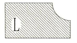 Фреза алмазная профильная L гранит/мрамор вакуумное спекание Diam-S - фото 4772