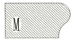 Фреза алмазная профильная M гранит/мрамор вакуумное спекание Diam-S - фото 4783