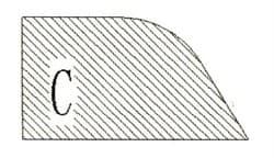 Фреза алмазная профильная C-20 гранит (#30/40) спечная Diam-S - фото 4816