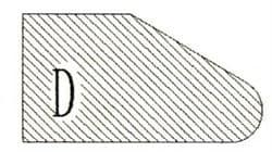 Фреза алмазная профильная D-20 гранит (#30/40) спечная Diam-S - фото 4818