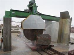 Портальная пила для распила блоков LZS 2500 - фото 6005
