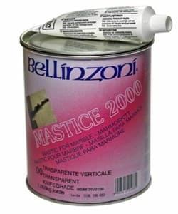 Клей полиэфирный 2000 Transparente Solido 00 (медовый, густой) 1кг Bellinzoni - фото 6058