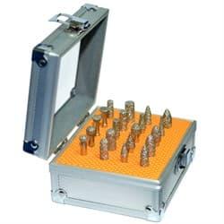 Комплект малых алмазных фрез DIS хвостовик 6 мм - 20 шт. вакуумное спекание - фото 6501