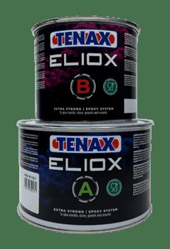 Клей эпоксидный ELIOX A+B (прозрачный полугустой) 1.5+0,75л Tenax - фото 9777