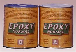 Клей FC эпоксидный Epoxy Extra Solido A+B (бежевый густой) 1+1кг