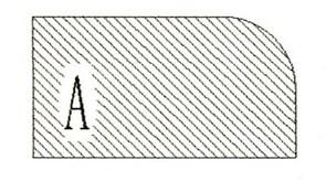 Фреза алмазная профильная A гранит/мрамор вакуумное спекание Diam-S
