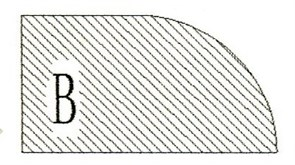 Фреза алмазная профильная B-20 гранит/мрамор (#30/40) вакуумное спекание Diam-S