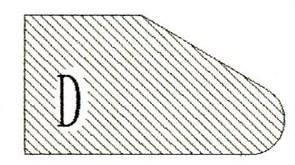 Фреза алмазная профильная D-20 гранит/мрамор (#30/40) вакуумное спекание Diam-S