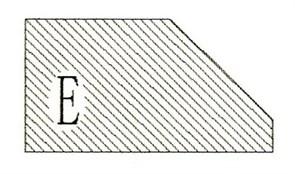 Фреза алмазная профильная E-20 гранит/мрамор (#30/40) вакуумное спекание Diam-S