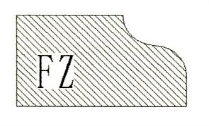 Фреза алмазная профильная FZ-20 гранит/мрамор (#30/40) вакуумное спекание Diam-S