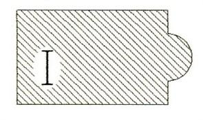 Фреза алмазная профильная I-30 гранит/мрамор (#30/40) вакуумное спекание Diam-S