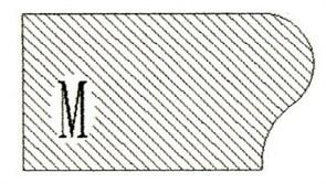 Фреза алмазная профильная M-20 гранит/мрамор (#30/40) вакуумное спекание Diam-S