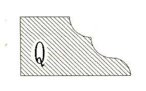 Фреза алмазная профильная Q-20 гранит/мрамор (#30/40) вакуумное спекание Diam-S