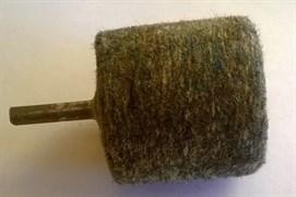 Войлок для полировки 50ммх45мм цанга 6 мм