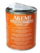 Клей для мрамора 1000 L-специальный пастообразный опаловый 0,9л. Akemi 10722