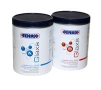 Клей эпоксидный Glaxs A+B (прозрачный густой) 1+0,7л Tenax