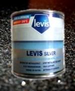 Краска LEVIS silver БЕЛ 125 мл