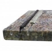 Лента противоскольжения Abrasivi Adria черная (резина)