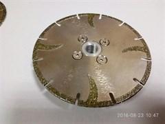 Диск DIAM-S Ø 125 мм (М14) по мрамору сегментный с гальваническим покрытием