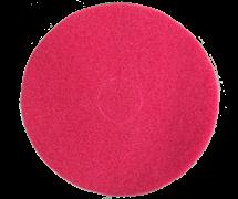 Круг войлочный FIB Ø 425х20мм velcro красный (синтетика)