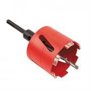 Сверло сегментное (М16-SDSplus с переходником) Ø 68/h-70мм | ж/бетон/dry/вакуумное спекание Diam